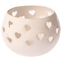 Heart tealight holder www.thepurplezebra.co.uk