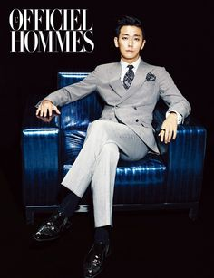 Joo Ji Hoon L'Officiel Hommes Korea Magazine December 2013