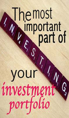 Thinking about investing? Maybe you should, maybe you shouldn't. Before you decide, learn what the biggest factor in your investment portfolio (this post is perfect for beginner investors) | Financegirl