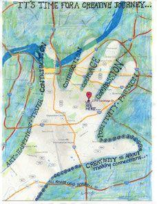 © 2014 C. Malchiodi | Art Therapy & Happiness Project | Hand Map of Creativity