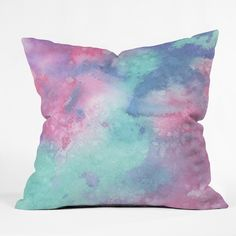 Viviana Gonzalez Ink Play Abstract 02 Outdoor Throw Pillow  | Deny Designs