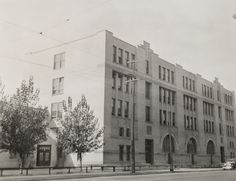 Canadian Art deco:  Saint-Arsène School, Montreal. 1923. Architect Ernest CORMIER.