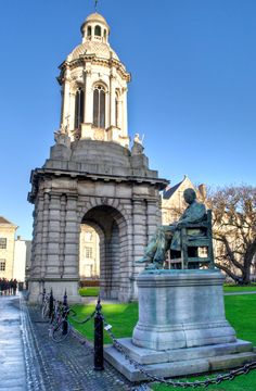 Ireland's answer to Oxford and Cambridge and the country's oldest university, Trinity College stands in the centre of Dublin.