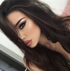 girl, makeup, and beauty