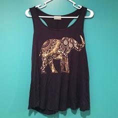 Spotted while shopping on Poshmark: Elephant Tank Top! #poshmark #fashion #shopping #style #Free Kisses #Tops