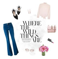 BLOOMING by ironono on Polyvore featuring polyvore, fashion, style, Alexander McQueen, STELLA McCARTNEY, Valentino, Miu Miu, Le Métier de Beauté, clothing, outfitoftheday, StreetChic, polyvoreOOTD and PolyvoreMostStylish