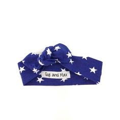 Star topknot headband - matches flag romper - Gigi and Max Cute Headbands, Baby Girl Headbands, Gigi And Max, My Superhero, Going Home, Top Knot, My Baby Girl, Toddler Outfits, Future Baby