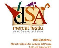 25è Dansàneu, Mercat Festiu de les Cultures del Pirineu (juny 2016)