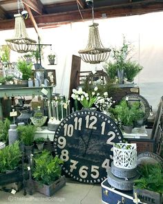Is it strange that I enjoy flea markets more than going to the mall? ~Unknown Saturday was the first vintage flea market of the season, and even though it was colder than cold (that's Michig…