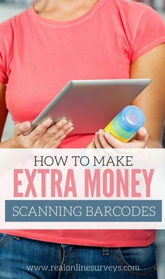 Are you interested in earning extra money by scanning barcodes? Sounds simple right? Well, it is. These sites will pay you to use your phone as a scanner.
