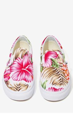 Vans Classic Slip-On Sneaker - Hawaiian Floral