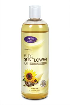 Pure Organic Sunflower Oil is known for its ability to reduce the appearance of fine lines and wrinkles.... Also good for hair!