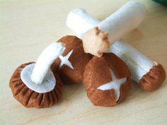 Free felt pattern-Mushroom 10 by fairyfox, via Flickr