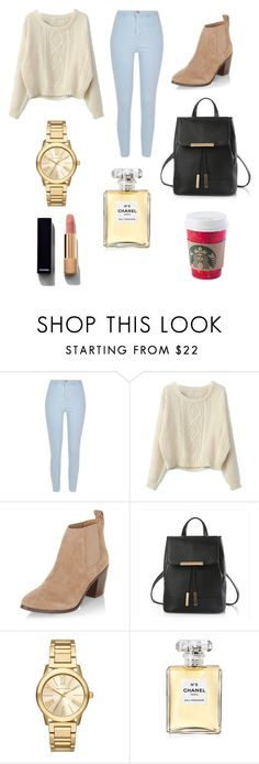 """""""Untitled #157"""" by sadiecoda on Polyvore featuring River Island, Chicnova Fashion, New Look, Michael Kors and Chanel"""