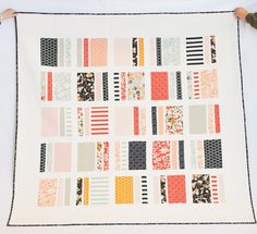 Free Tutorial - Peaches and Cream Quilt by Simple Simon and Company