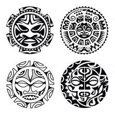 Hawaiian Warrior mask - Google 검색 #polynesiantattoosdesigns