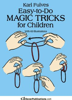 While the magic tricks are great, most are easy to do. Magic tricks are designed to please crowds, which inevitably forms a majority at most gatherings. Magic tricks are the most popular form of magic entertainment. Self-working magic Magic Tricks For Kids, Magic Tricks Book, Learn Magic, Magic Illusions, Magic Party, Magic Theme, Sleight Of Hand, Magic Show, Card Tricks