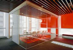 Red Cross of NYC in Herman Miller caper chairs