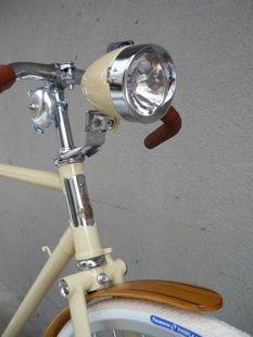 Vanguard // Amarelo Messenger Bike in cream, mocha and chrome