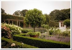 a look at the Barefoot Contessa property - the garden