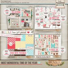 Most Wonderful Time of the Year BUNDLE