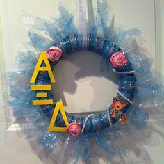 Alpha Xi Delta wreath! TFJ sisters!