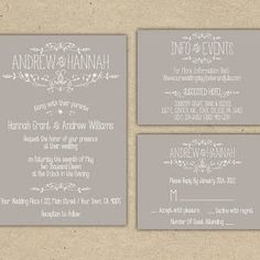 7. Think Customizable, Not Custom Instead of ordering completely custom invitations, order a DIY printable from a site like Wedding Chicks. ...