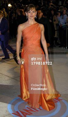 Jennifer Garner during 2004 Vanity Fair Oscar Party at Mortons in Beverly Hills, California, United States