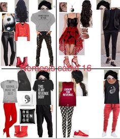 Nemesis cabin 16 Percy Jackson Cabins, Percy Jackson Fan Art, Percy Jackson Memes, Percy Jackson Fandom, Percy Jackson Costume, Percy Jackson Outfits, Themed Outfits, Inspired Outfits, Fandom Outfits