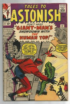 TALES TO ASTONISH #51 Silver Age find starring Wasp & Giant-Man! http://r.ebay.com/Crd5p9