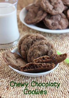 It is time for some softly Chewy Chocolate Cookies! A chocolate explosion in every bite. Simple to make and easier to eat.