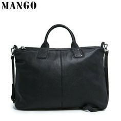 Mango Women Bag Black Briefcase - Blue Products- - TopBuy.com.au