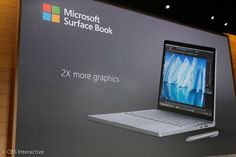 Microsoft's Surface Books get massive battery life upgrade     - CNET  Enlarge Image  Microsofts high-end Surface Book just got even more powerful.                                              Sarah Tew/CNET                                           These are more than surface level updates.   As Microsoft pushed new 3D software and the Surface Studio at its New York Windows event on Wednesday the PC giants squeezed in a small but important update for its Surface Book.  The new Surface Book…