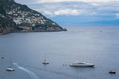 👉 Sailing Ships, and Yachts in Positano Harbor, Cliffside Village, province of Salerno, the region of Campania, Amalfi Coast, Costiera Amalfitana, Italy Positano, Amalfi Coast, Yachts, Sailing Ships, Italy, Beach, Water, Pictures, Outdoor