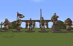 The Evil Sketch's Statues Minecraft Project