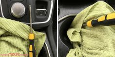 These 13 car cleaning hacks will have your car looking like you just drove it off the lot. Get a professional detailed look without spending tons of money. You will wonder why you didn't think of these tricks yourself. #carcleaninghacks #deepcleaning #cardetailingtips