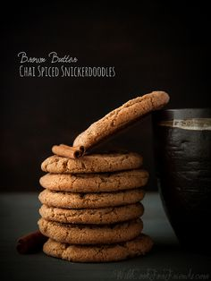 Brown Butter Chai Spiced Snickerdoodles | Will Cook For Friends