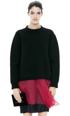 acne Misty Black sweatshirt