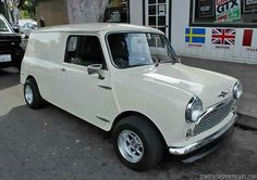 Mini Cooper Classic, Classic Mini, Vans Classic, Mini Moris, Mini Copper, Step Van, Chevy Van, Mini Clubman, Mini Trucks