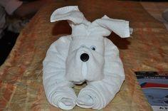 How to Fold a Towel Dog