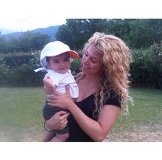 Pin for Later: The Sweetest Candid Celebrity Mom Snaps Shakira and Milan Source: Instagram user shakira