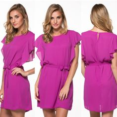 Alli Nicole Boutique - Violet Flutter, $30.00 (http://www.allinicoleboutique.com/violet-flutter/) #pretty #violet #dress #dressup #dresses #clothing #wardrobe #fall #fashion #colorful #wear