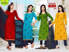 We are offering best collection of ladies suits on best prices in Haryana (Faridabad). For more details kindly visit www.vitindia.com