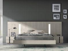 Dormitorio Moderno Eos Concept Bed Headboard Design, Bedroom Furniture Design, Headboards For Beds, Luxury Furniture, Design Moderne, Woodworking Furniture, Light Colors, Room Decor, Category 5
