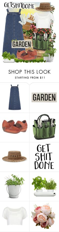 """""""Growing."""" by goldenopal ❤ liked on Polyvore featuring Dorothy Perkins, HomArt, Spring Step, Picnic at Ascot, Sensi Studio, Potting Shed Creations, Dot & Bo and Adi Designs"""