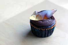 Halloween Mice cupcakes. Easy, simple, chocolate and great tasting! And gross. I hate mice. #Halloween #cupcakes #chocolate #treats #scary