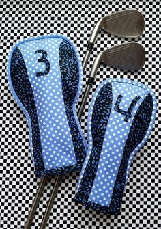 Golf Club Head Covers Sewing Pattern Classic By