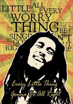 Print Bob Marley Poster  Birthday Gift Art print wall by Artistico, $32.00