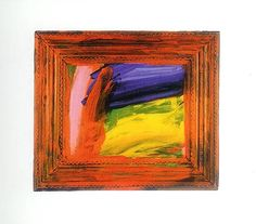 Going for a Walk With Andrew (Silk Screen) by Howard Hodgkin
