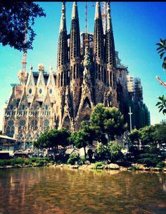 Sagrada Família en Barcelona, Cataluña - http://sixt.info/Barcelona-Pinterest #Cultura #Barcelona